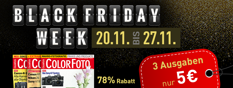 Black Friday Banner Colorfoto