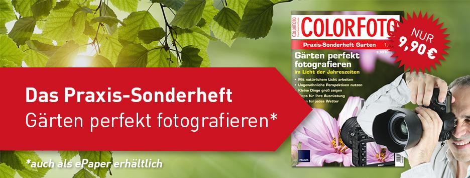 ColorFoto Praxis-Sonderheft Garten