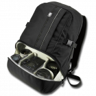 Jackpack Half Photo Backpack (schwarz)