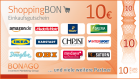 10 EUR ShoppingBON