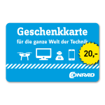 20 Euro Einkaufsgutschein Conrad Electronic