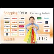 10 € Shopping BON