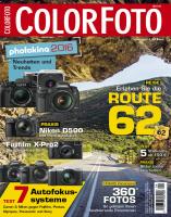 ColorFoto Ausgabe: 09/2016