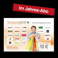 10 EUR Shopping BON