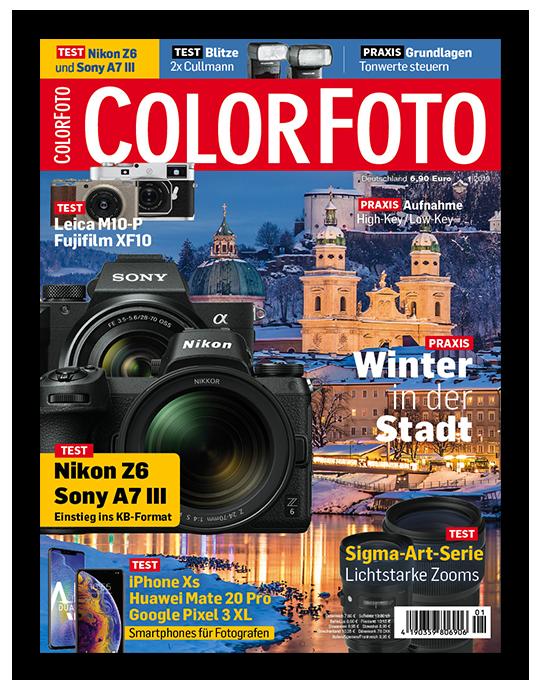 ColorFoto Ausgabe: 1/2019
