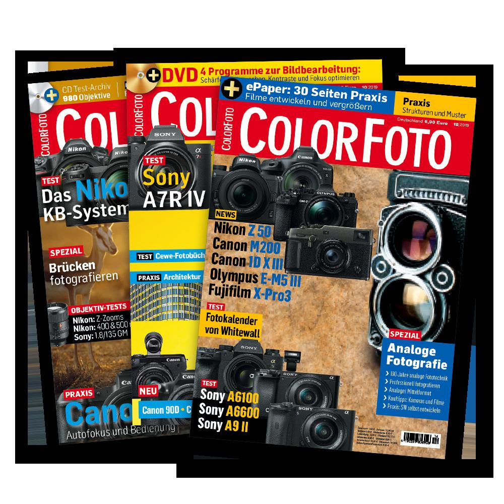 ColorFoto Magazin Einzelhefte