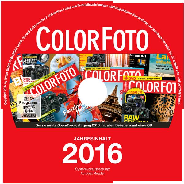 Jahrgangs-CD ColorFoto 2016