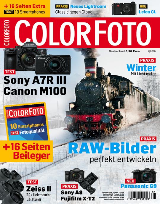 ColorFoto Ausgabe: 1/2018